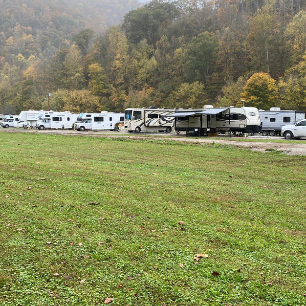 RV's in the campground