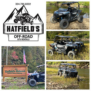 Polaris Adventures hatfield Mccoy trail rentals