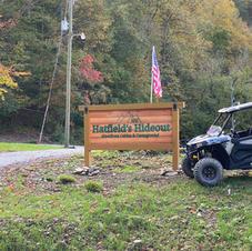 Hatfield Mccoy trail campground