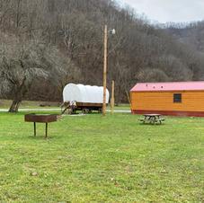 Wagon and Bathouse
