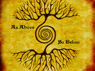 As Above So Below, (as outside you so within you)