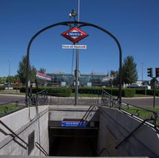 IFEMA Feria de Madrid, metro