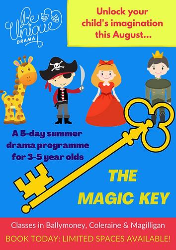 THE MAGIC KEY POSTER - Ballymoney versio