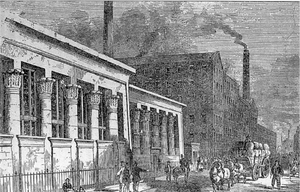 Historic view of Holbeck - the Cradle of Innovation