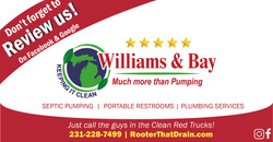 Dont Forget to Review Us - Williams and