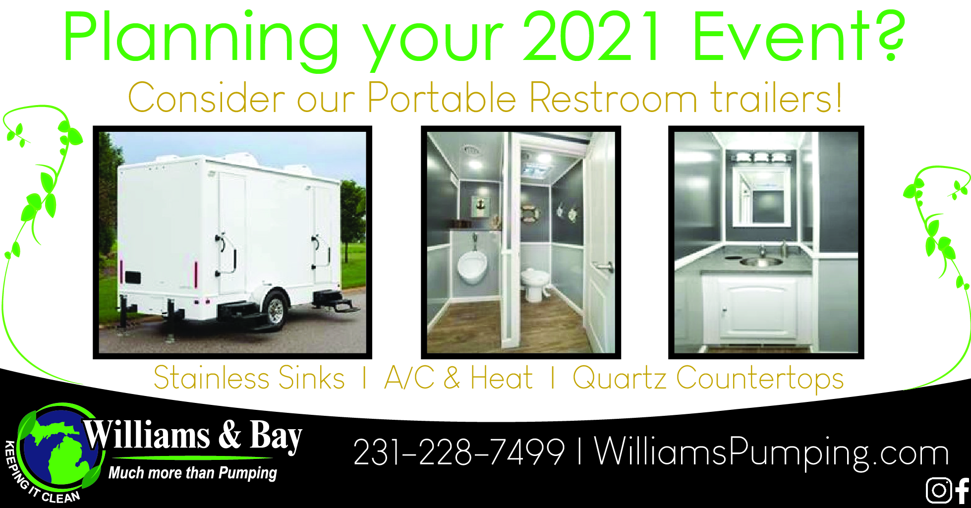 2021 Event - Portable Restroom Trailers