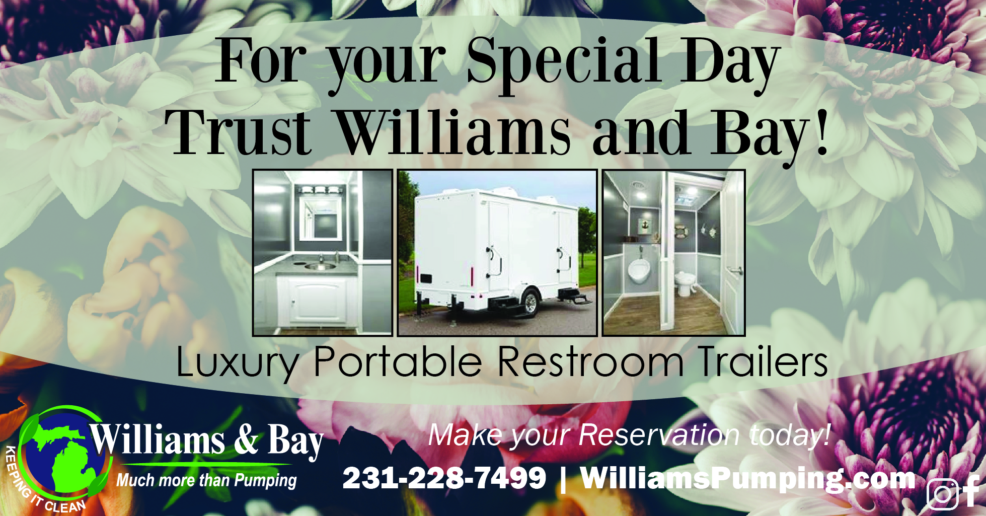 Special Day - Portable Restroom Trailers