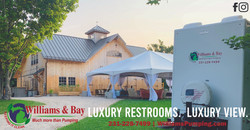 Luxury Restrooms - Williams and Bay_20 OFF Coupon - Williams Bay