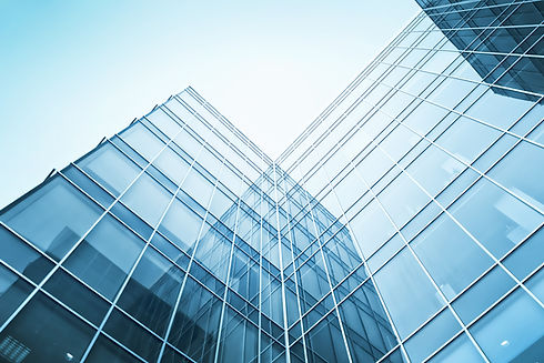 exterior of glass residential building.j