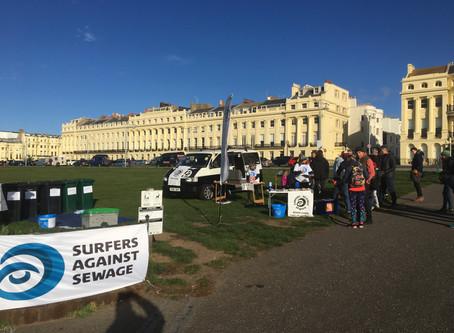 Brighton Beach Clean Organised By Surfers Against Sewage
