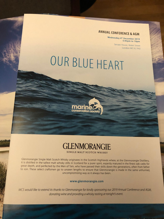 Our Blue Heart - The Marine Conservation Society Annual Conference 2019
