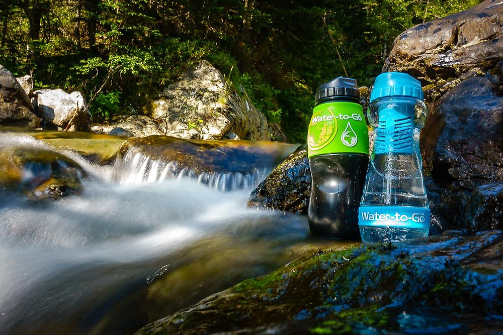Water to Go Filter Bottles