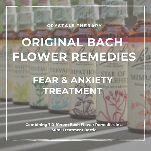 Bach Flower Remedies for Fear and Anxiety, Original Bach Flower Essences