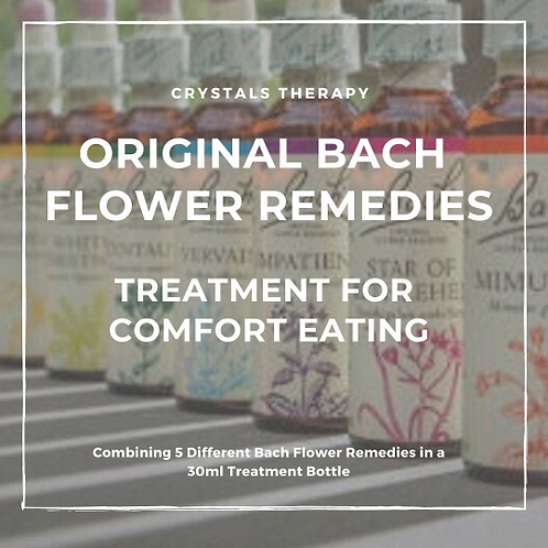 Bach Flower Remedies for Comfort Eating, Bach Flower Remedy Essences