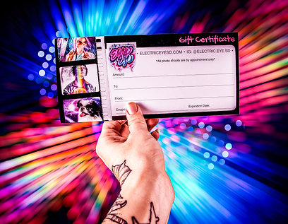 Electric Eye Gift Certificate
