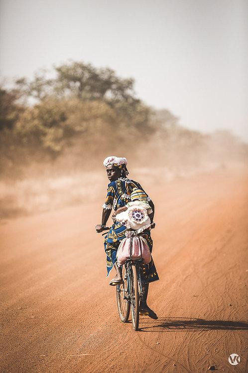 A vélo au Burkina