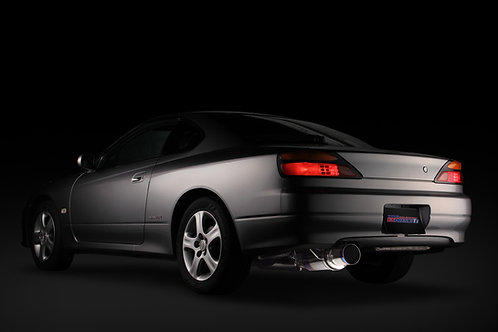 TOMEI - ExpremeTi Catback Exhaust - Nissan Silvia S15