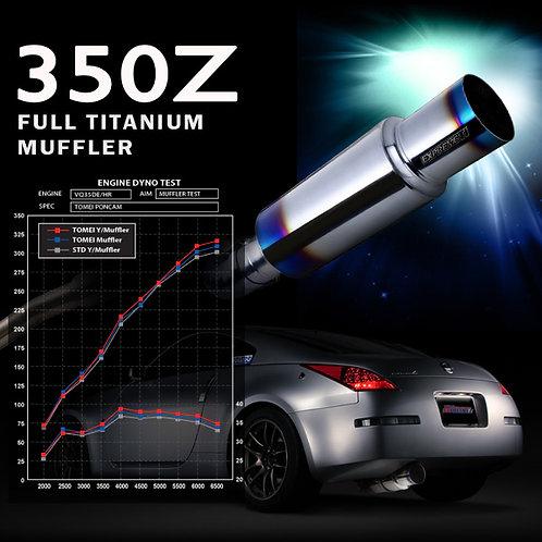 TOMEI - ExpremeTi Catback Exhaust - Nissan 350z