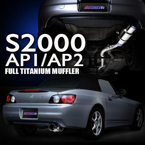 TOMEI - ExpremeTi Catback Exhaust - Honda S2000 AP1/AP2