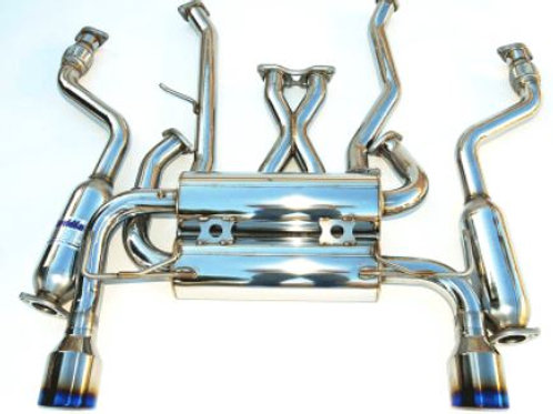 Invidia Gemini Cat-back Exhaust Infiniti G37 Coupe (07+)