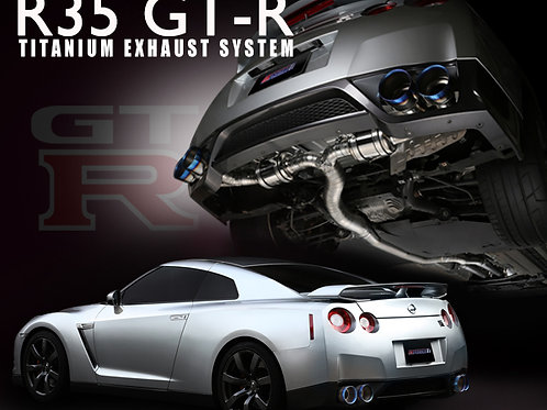 TOMEI - ExpremeTi Catback Exhaust - Nissan GT-R
