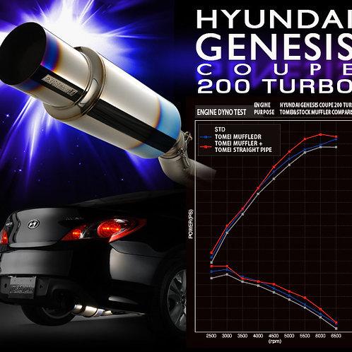 TOMEI - ExpremeTi Catback Exhaust - Hyundai Genesis Coupe 200 Turbo