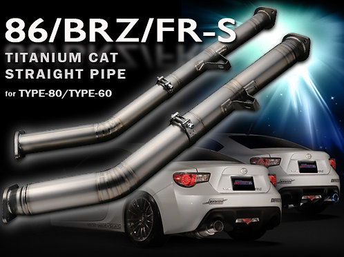 TOMEI - ExpremeTi Titanium Cat-Less Front Pipe Pipe -86/FRS/BRZ