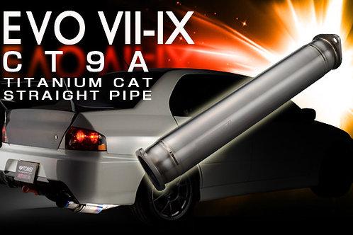 TOMEI - ExpremeTi Titanium Cat Delete Test Pipe - Mitsubishi Evo 7/8/9 CT9A