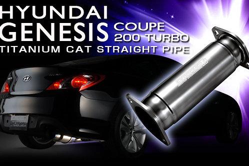 TOMEI - ExpremeTi Cat Delete Pipe - Hyundai Genesis Coupe 2.0T