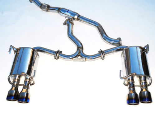 Invidia Q300 Cat-back Exhaust Subaru WRX/STi (15+)