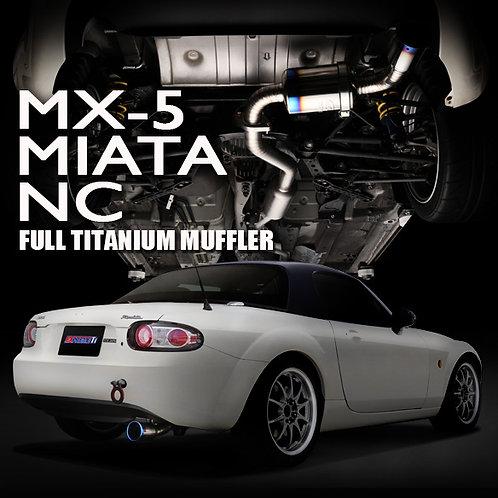 TOMEI - ExpremeTi Catback Exhaust - Mazda Miata MX-5 NC