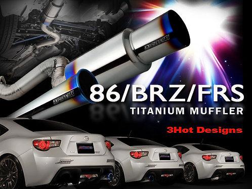 TOMEI - ExpremeTi Catback Exhaust - Scion FRS / Subaru BRZ / Toyota 86