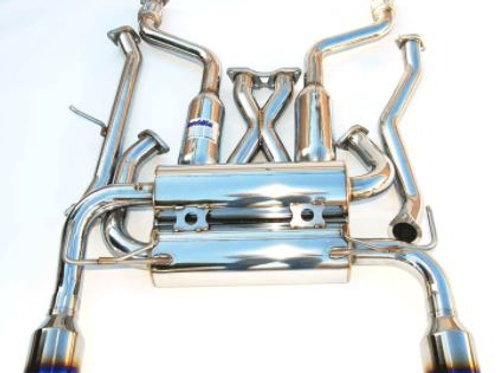 Invidia Gemini Cat-back Exhaust Infiniti FX35 (03-08) FX45 (03-05)