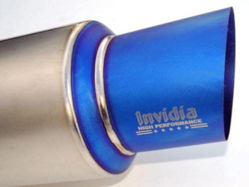 Invidia Full Titanium Cat-back Exhaust Mitsubishi EVO X (09-Up)