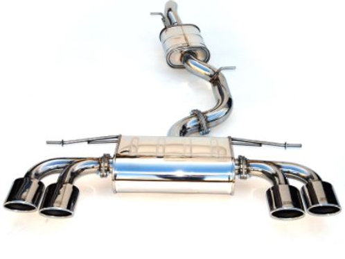 Invidia Q300 Cat-back Exhaust Volkswagen Golf Golf R (14+)