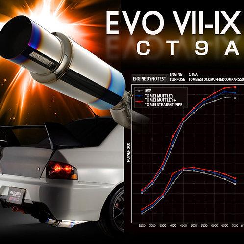 TOMEI - ExpremeTi Catback Exhaust - Mitsubishi Evolution 7/8/9 *JDM Bumper*