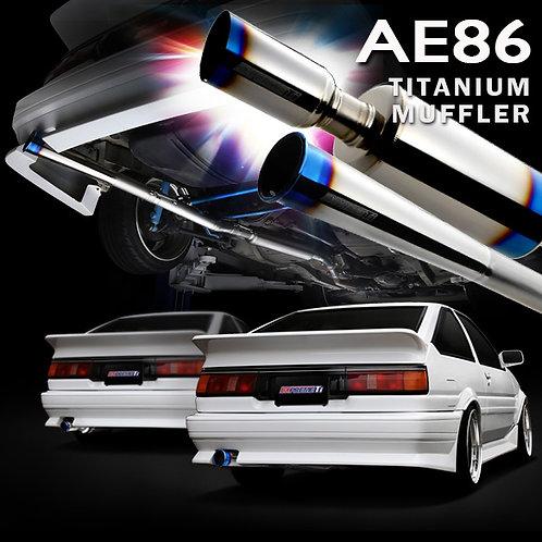 TOMEI - ExpremeTi Catback Exhaust - Toyota AE86