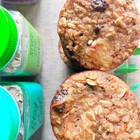 Muffin de zanahora y pasas Bite & Bake