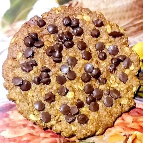 Galleta con chips de chocolate
