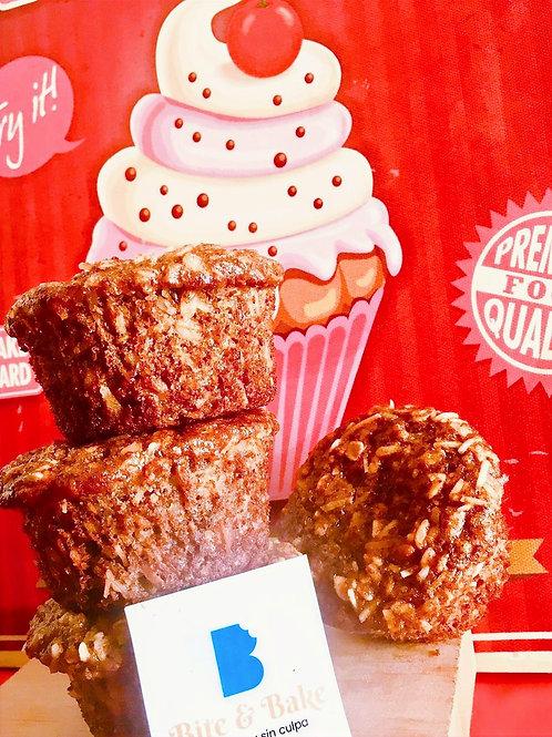 Muffin con coco