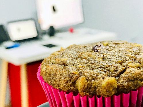 Muffin con manzana