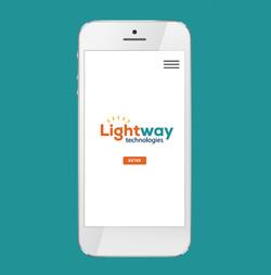 Lightway Technologies Logo Design
