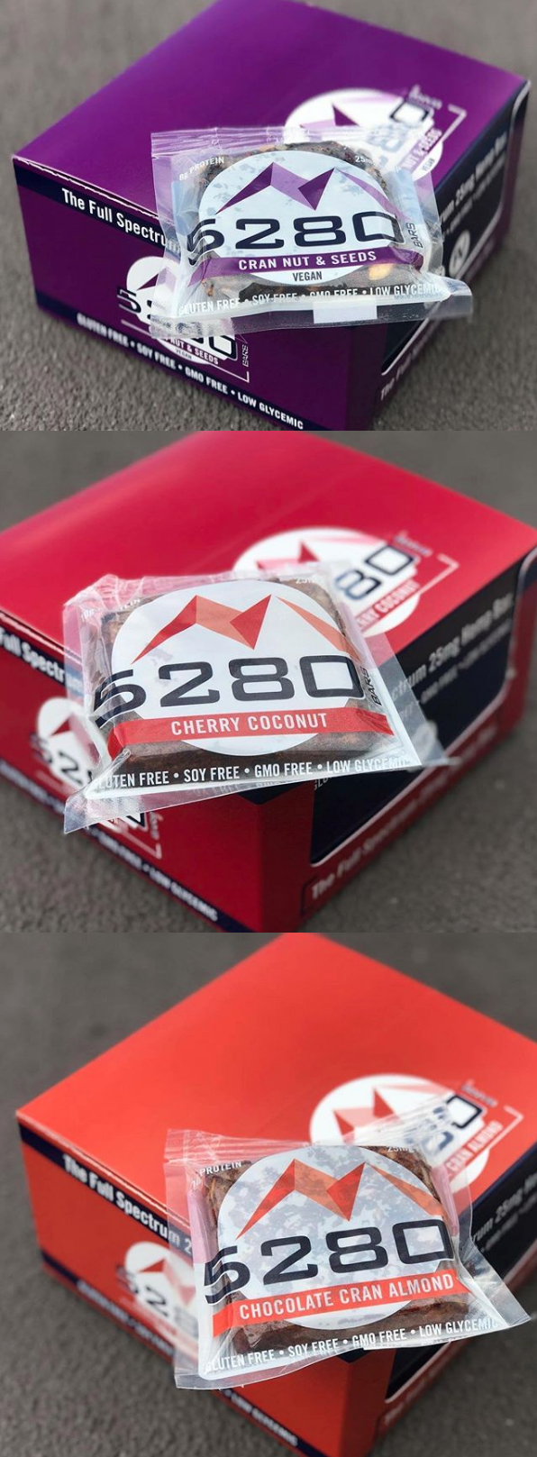 5280 Bars Packaging