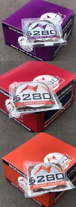 5280 Bars Packaging