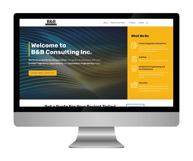 B&B Consulting Website