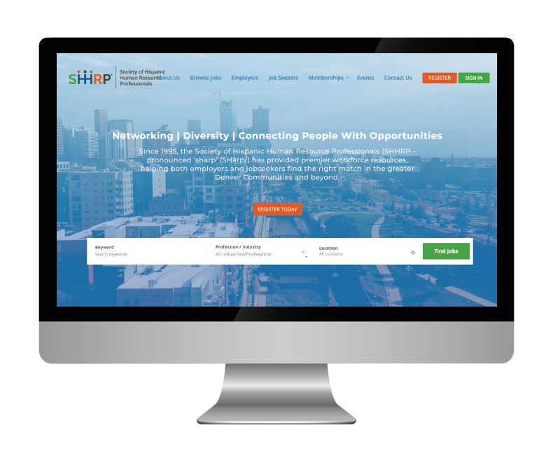 SHHRP Website Design