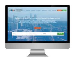 SHHRP Website Design