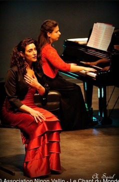 España, récital avec la mezzo-soprano Sophie Hanne