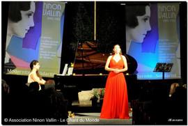 Evocations d'ailleurs, récital avec Sophie Hanne