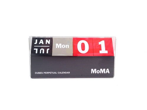 MoMA Cubes Perpetual Calendar | Housewarming Gifts | United States |  Www.tanagerhousewares.co